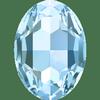 Dreamtime Crystal DC 4127 Large Oval Fancy Stone Aquamarine 30x22mm