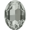 Dreamtime Crystal DC 4127 Large Oval Fancy Stone Black Diamond 30x22mm