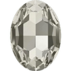Dreamtime Crystal DC 4127 Large Oval Fancy Stone Crystal Silver Shade 30x22mm