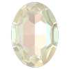 Dreamtime Crystal DC 4127 Large Oval Fancy Stone Crystal Ivory Cream DeLite 30x22mm