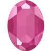 Swarovski 4127 Large Oval Fancy Stone Crystal Peony Pink 30x22mm