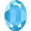 Swarovski 4127 Large Oval Fancy Stone Crystal Summer Blue 30x22mm