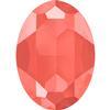 Swarovski 4127 Large Oval Fancy Stone Crystal Light Coral 30x22mm