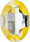 Swarovski 4127 Large Oval Fancy Stone Crystal Sunshine DeLite 30x22mm