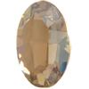 Swarovski 4128 Xilion Oval Fancy Stone Crystal Golden Shadow 10x8mm