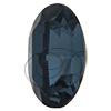 Swarovski 4128 Xilion Oval Fancy Stone Denim Blue 10x8mm