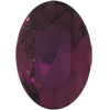 Swarovski 4130/2 Oval Fancy Stone (Table Cut) Amethyst 6x4mm
