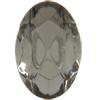 Swarovski 4130/2 Oval Fancy Stone (Table Cut) Black Diamond 6x4mm