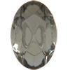 Swarovski 4130/2 Oval Fancy Stone (Table Cut) Black Diamond 6x4mm