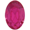 Swarovski 4130/2 Oval Fancy Stone (Table Cut) Fuchsia 6x4mm