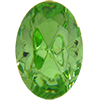 Swarovski 4130/2 Oval Fancy Stone (Table Cut) Peridot 6x4mm