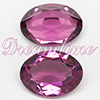 Swarovski 4140 Oval Fancy Stone Amethyst (Unfoiled) 12x10mm