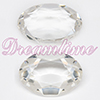 Swarovski 4140 Oval Fancy Stone Crystal (Unfoiled) 25x18mm