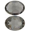 Swarovski 4140 Oval Fancy Stone Black Diamond (Unfoiled) 16x11mm