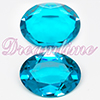 Swarovski 4140 Blue Zircon Unfoiled Oval Rhinestone