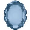 Swarovski 4142 Baroque Mirror Fancy Stone Denim Blue 10x8mm