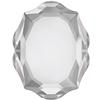 Swarovski 4142 Baroque Mirror Fancy Stone Crystal 10x8mm