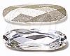 Swarovski 4161 Long Classical Oval Fancy Stone Crystal 27x9mm