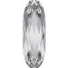 Dreamtime Crystal DC 4161 Long Classical Oval Fancy Stone Crystal 15x5mm