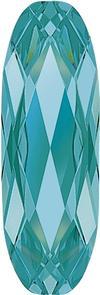 Swarovski 4161 Long Classical Oval Fancy Stone Light Turquoise 27x9mm