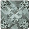 Swarovski 4418 Xilion Pointed Square Fancy Stone Black Diamond 6mm
