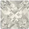 Swarovski 4418 Xilion Pointed Square Fancy Stone Crystal Silver Shade 8mm