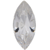 Swarovski 4200/2 Navette Fancy Stone (Table Cut) Crystal 10x5mm