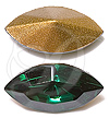 Swarovski 4200/2 Navette Fancy Stone (Table Cut) Emerald 6x3mm