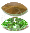 Swarovski 4200/2 Navette Fancy Stone (Table Cut) Peridot 10x5mm