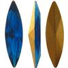 Swarovski 4200 Navette Fancy Stone Capri Blue (Gold Foil) 15x4mm