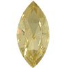 Swarovski 4200 Navette Fancy Stone Jonquil (Gold Foil) 15x4mm