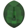 Swarovski 4224 Pure Leaf Fancy Stone Dark Moss Green 10x8mm