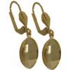 Empty Jewelry Earrings Setting for Swarovski 4224 14 x 11 mm. Pair.