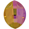 Swarovski 4224 Pure Leaf Fancy Stone Crystal Purple Haze 14x11mm
