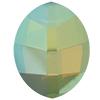 Swarovski 4224 Pure Leaf Fancy Stone White Opal Verde 14x11mm