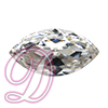 Swarovski 4227 Large Navette Fancy Stone Crystal 32x17mm
