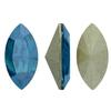 Swarovski 4228 Navette Fancy Stone Indicolite Moonlight 10x5mm