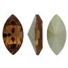 Swarovski 4228 Navette Fancy Stone Light Smoked Topaz 10x5mm