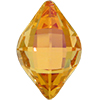 Swarovski 4230 Lemon Fancy Stone Brandy 14x9mm