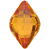 Swarovski 4230 Lemon Fancy Stone Crystal Chili Pepper 19x12mm