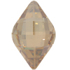 Swarovski 4230 Lemon Fancy Stone Crystal Golden Shadow 14x9mm