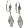 Empty Jewelry Earrings Setting for Swarovski 4230 19 x 12 mm. Pair.