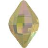 Swarovski 4230 Lemon Fancy Stone 14 x 9 mm White Opal Lemon