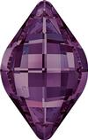 Swarovski 4230 Lemon Fancy Stone Amethyst 14x9mm