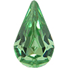 Swarovski 4300 Pear Shaped Fancy Stone Peridot 6x3.6mm