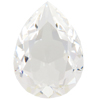 Swarovski 4320 Pear Shaped Fancy Stone Crystal (Unfoiled) 18x13mm