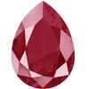 Swarovski 4320 Pear Shaped Fancy Stone Crystal Dark Red 14x10mm
