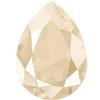 Swarovski 4320 Pear Shaped Fancy Stone Crystal Ivory Cream 14x10mm