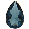 Swarovski 4320 Pear Shaped Fancy Stone Montana (Unfoiled) 13x8.5mm