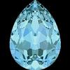 Dreamtime Crystal DC 4320 Pear Shaped Fancy Stone Aquamarine 8x6mm